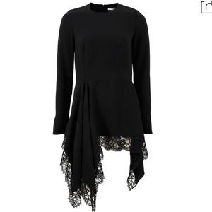 f93495683353 Givenchy Tops - Givenchy Lace Trim Cady Handkerchief Top